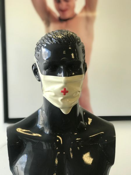 Gesichtsmaske HOSPITAL White