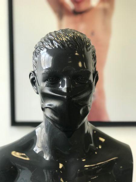 Gesichtsmaske RAW Black