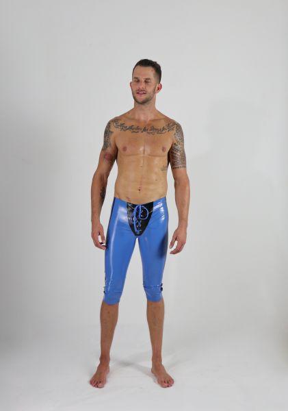 SAR sportliche Latexhose mit Schnürung