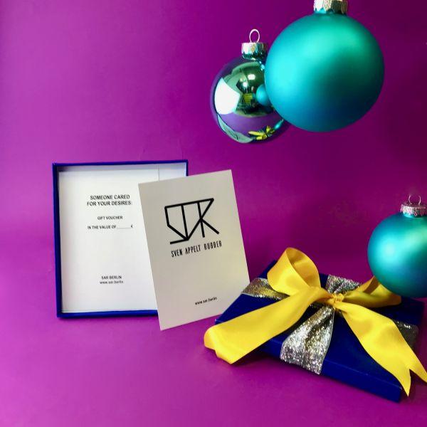 Geschenkbox für Gutschein
