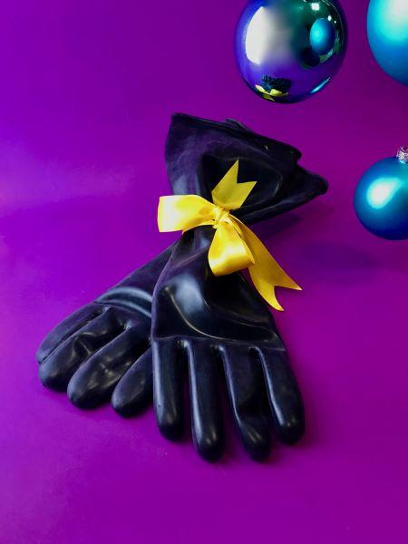 Industriegummi-Handschuhe 43cm lang