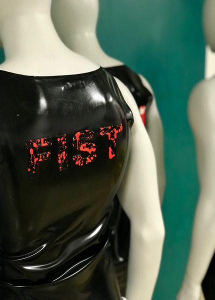 Schriftzug im Bleachers-Stil FIST