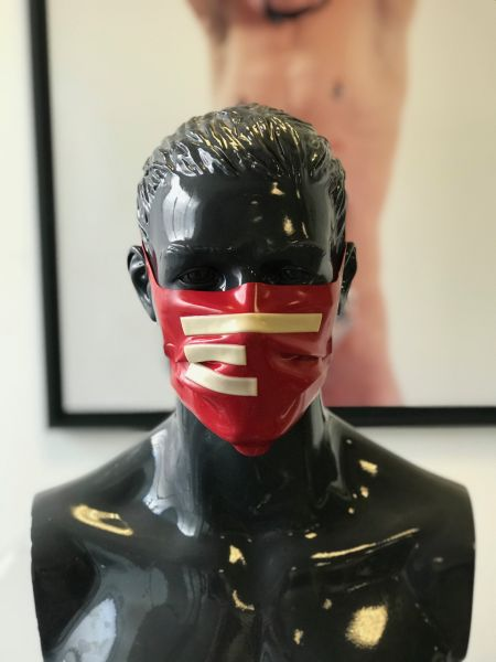 Gesichtsmaske TERRANOVA Red