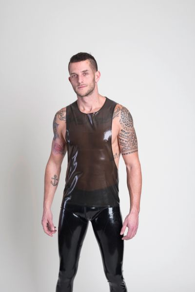 SAR Muscel Beach Shirt aus Latex