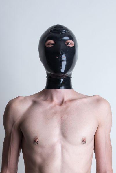 SAR Latexmaske ohne Mundöffnung
