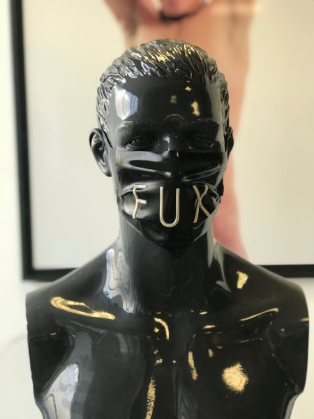 Gesichtsmaske FUX Black