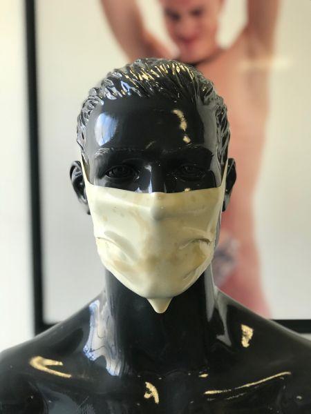 Gesichtsmaske CUM White